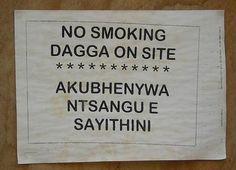 Funny signs in South Africa - Jacaranda Blogs - Jacaranda FM