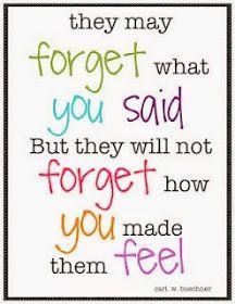 Teaching My Friends!: Weekend Words: Feelings Matter