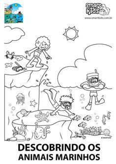 Colorir Desenho Passeio de Barco - Desenhos para colorir - Smartkids Christmas Tree Poster, Comics, Art, Boating, Print Coloring Pages, Pranks, Cartoons, The Beach, School