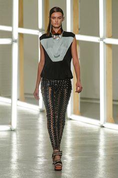 Gothic Couture: Rodarte Spring 2013. Via   Fashionista.com.