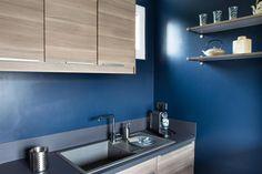 Maison en bleu et blanc, Chantiers de référence, Inspirations et tendances, Particuliers, Tollens