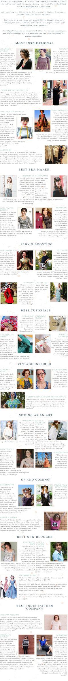 Best sewing blogs 2015 - Madalynne - A Sewing Blog