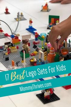 Popular Lego Sets For Kids - Quiet Toys For Kids - Best Building Sets For Kids Best Toddler Toys, Best Kids Toys, Building Toys For Kids, Best Lego Sets, Educational Toys For Toddlers, Top Toys, Toddler Learning, Lego City, Awesome Toys