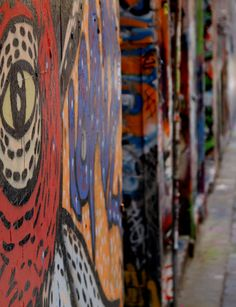Melbourne Laneways, Graffiti, Street photography by allison taylor (deRshop)