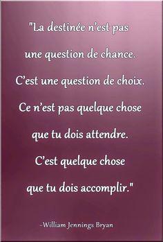 Citations option bonheur: Le destin, c'est du hasard ? Morning Affirmations, Positive Affirmations, Some Quotes, Words Quotes, Positive Attitude, Positive Quotes, Positive Life, Meaningful Quotes, Inspirational Quotes