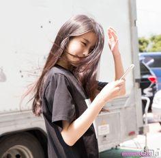 iumushimushi:  150616 IU After Producer Filming cr: 글라라
