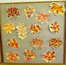 Risultati immagini per podzim ve škole Fall Arts And Crafts, Diy And Crafts, Projects For Kids, Art Projects, Art Sub Lessons, Autumn Activities For Kids, Autumn Art, Elementary Art, Art Education