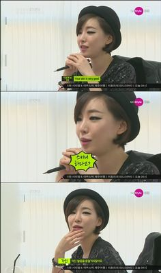 Brown Eyed Girls' Ga-In holds a funny English conversation on her fashion show #allkpop #kpop
