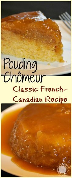 For a taste of a classic French-Canadian sweet make sure to try this recipe today! For a taste of a classic French-Canadian sweet make sure to try this recipe today! Canadian Cuisine, Canadian Food, Canadian Recipes, Canadian French, Pudding Recipes, Cake Recipes, Dessert Recipes, Pudding Chomeur Recipe, Cottage Pudding Recipe