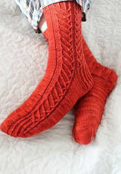 A relatively basic cuff down sock pattern that is suitable for both men and women. The instructions are given for 66 and 72 stitches so the pattern can be applied for fingering weight yarn to fit most women. Scaling up and down in 6-stitch intervals shouldn't be too difficult for experienced knitters.