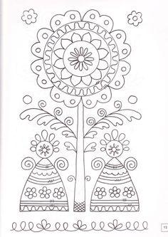 "ru / Los-ku-tik - Альбом ""Альбом узоров"" This site has many redwork patterns. Hand Embroidery Tutorial, Folk Embroidery, Learn Embroidery, Hand Embroidery Patterns, Vintage Embroidery, Cross Stitch Embroidery, Embroidery Designs, Russian Embroidery, Henna Patterns"