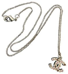 e1645662d Chanel Classic CC Gold Crystal Swarovski Reversible Necklace. - 67% Off  Retail Swarovski,