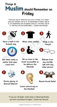 Learn Muslim Beliefs — How to Get the Blessings of Friday Prayer?