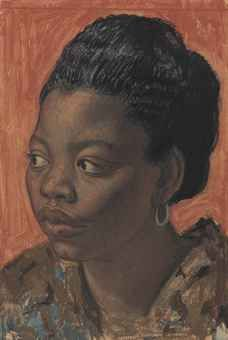 DAME LAURA KNIGHT, R.A. (1877-1970) CHLOE
