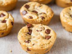 Mookies (cookie façon muffin) au Thermomix, délicieux petits gâteaux mi-cookie mi-muffin, facile à réaliser et parfait pour le petit déjeuner ou le goûter.