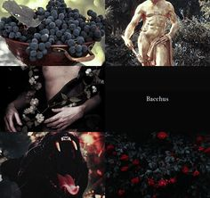 Greek Gods and their Roman counterparts   Dionysus & Bacchus 2/2