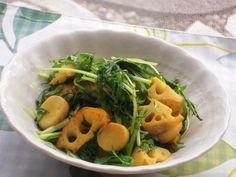 年明けデットクスに☆蓮根と水菜とエリンギのカレー塩風味
