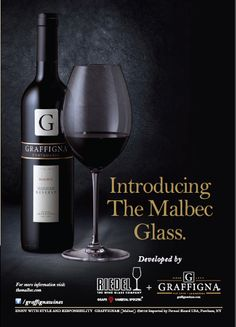 Happy World Malbec Day! Please welcome the new Riedel Malbec glass!