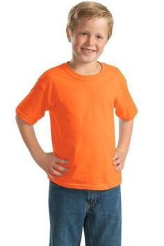 Welcome to the TMD Outlet Store, Gildan® - Youth Ultra Cotton® 100% Cotton T-Shirt. 2000B