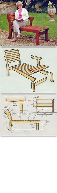 Garden Lounger Plans - Outdoor Plans and Projects | WoodArchivist.com