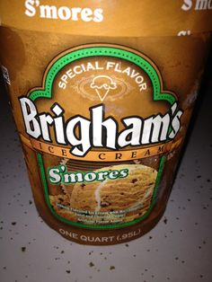 This is the new flavor to the BEST ice cream out there....Brigham's...just in time for Summer (: