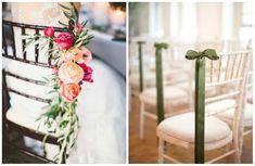 allestimento chiesa idee sedie sposi