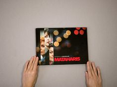 The poster for the film 'Mataharis' directed by Iciar Bollain about three private detectives. The film had several nominations at the Goya Awards. Film, Books, Poster, Home Decor, Movie, Libros, Decoration Home, Film Stock, Room Decor