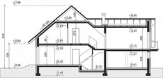 Unique Country House Plan With Four Bedrooms And Three Bathrooms - House And Decors Four Bedroom House Plans, Porch House Plans, Modern House Plans, Office Building Architecture, Modern Architecture House, Modern Architectural Styles, Looking For Houses, Classic House Design, French Country House Plans