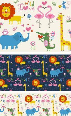 Nastja Holtfreter  is an illustrator andsurface pattern designer from Berlin, Germany. All of Nastja's designs are available for licensin...