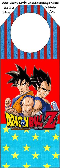 Oh My Fiesta! in english: Dragon Ball Z Free Party Printables. Dragon Ball Z, Dragon Z, Goku Birthday, Sonic Birthday, Oh My Fiesta, Party Printables, Party Themes, Themed Parties, Invitation
