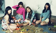 Miss A for Nylon