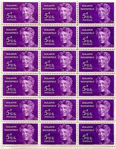 eleanor roosevelt stamp