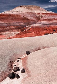 Today we're daydreaming about The Bentonite Hills in Capitol Reef National Park, Utah