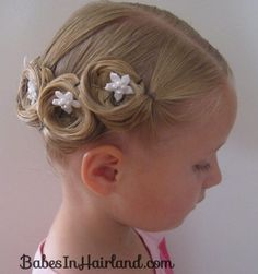 Crown of Pin Curls, FAST AND EASY WEDDING IDEAS -SR