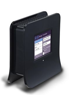 Touch Screen Wireless N Router + Range Extender