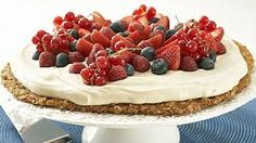 Kuvahaun tulos haulle herkut Cheesecake, Desserts, Food, Tailgate Desserts, Deserts, Cheese Cakes, Eten, Postres, Dessert