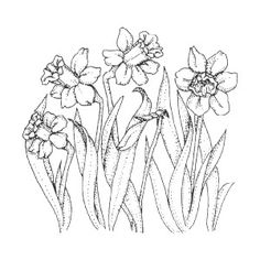 Art Impressions Floral Style Stamps