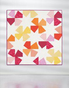 Starflower quilt by Angela Nash