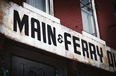 Main & Ferry, Buffalo, NY - near my high school