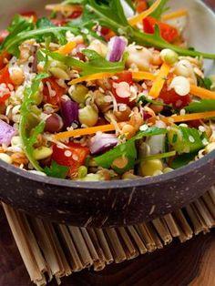 Sprouting Raw Salad Vegan