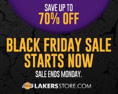 LakersStore.com Black Friday Sale
