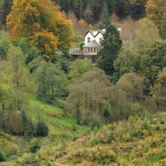 The Cottage in the Wood hotel and restaurant, Whinlatter Forest, Lake District, Cumbria, England Romantic Places, Beautiful Places, Lake District Hotels, Cottage In The Woods, Places To Get Married, English Countryside, Cumbria, Great Britain, Wonders Of The World