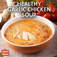 The Chew: Daphne Oz's Healthy Roasted Garlic & Chicken Soup Recipe
