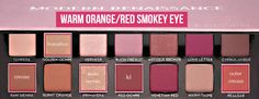 WARM ORANGE/RED SMOKEY EYE USING THE ANASTASIA BEVERLY HILLS MODERN RENAISSANCE PALETTEI will be showing all you some of my favorite looks to create with this palette. This is a new mini series I'll be doing on my blog (it'll probably last for only...