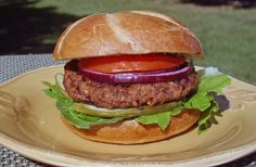 Two Bean and Walnut Veggie Burgers