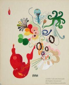 Embroidery as Art: Takashi Iwasaki