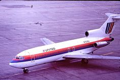 1981 Original Slide,UNITED AIRLINES BOEING 727-22 (N7018U), | eBay