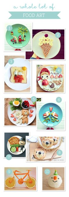 10 Amazingly Appetizing Food Art Designs ~ Tinyme Blog