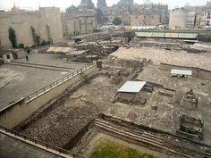 Tenochtitlan (Templo Mayor ruins), Mexico