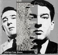 The Krays, Gangsta Quotes, First Love, Crime, First Crush, Puppy Love, Crime Comics, Fracture Mechanics